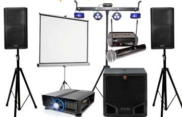Video/Audio Equipment : $2000