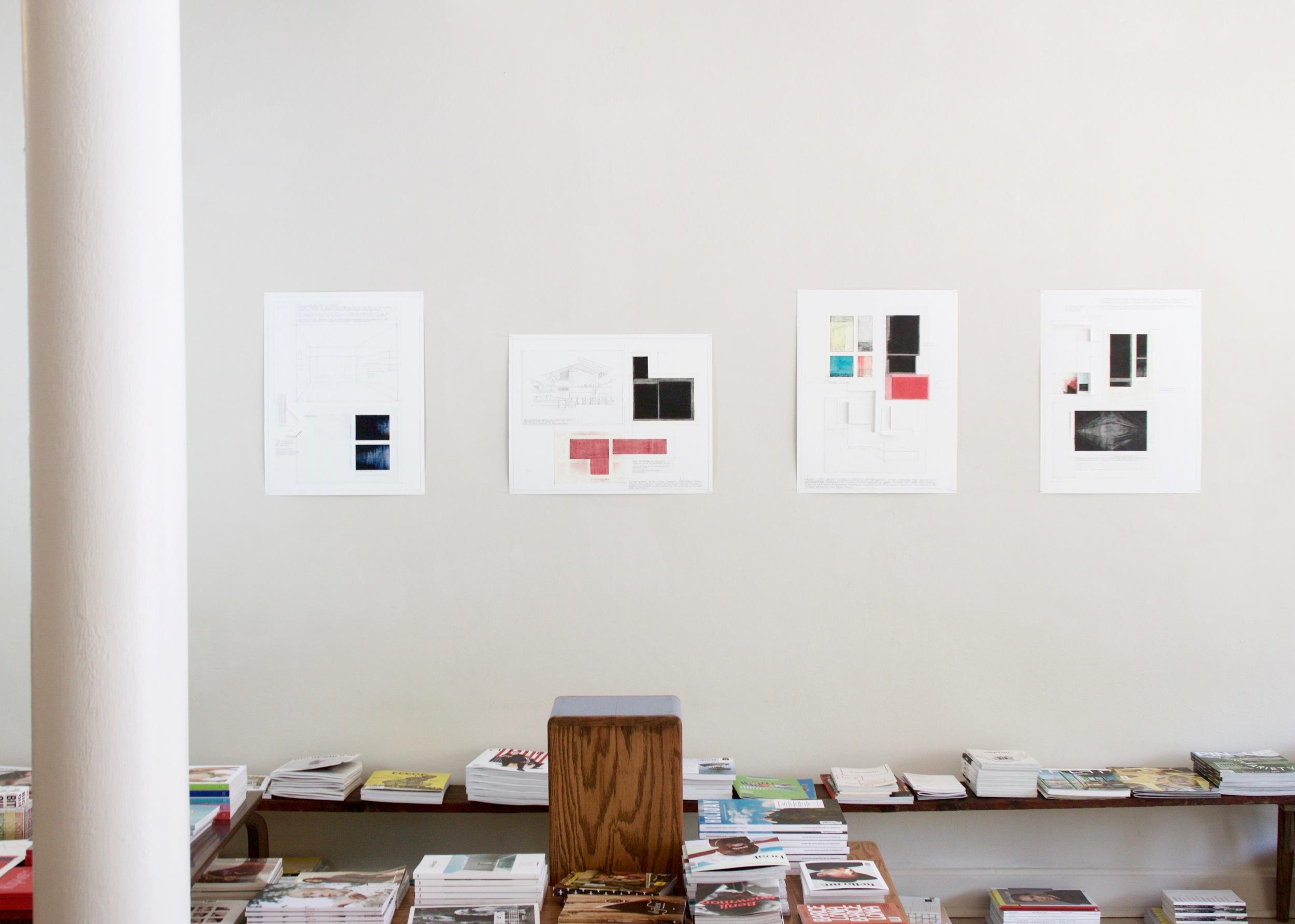 installation view, Deb Sokolow for Syntax Season, 2016