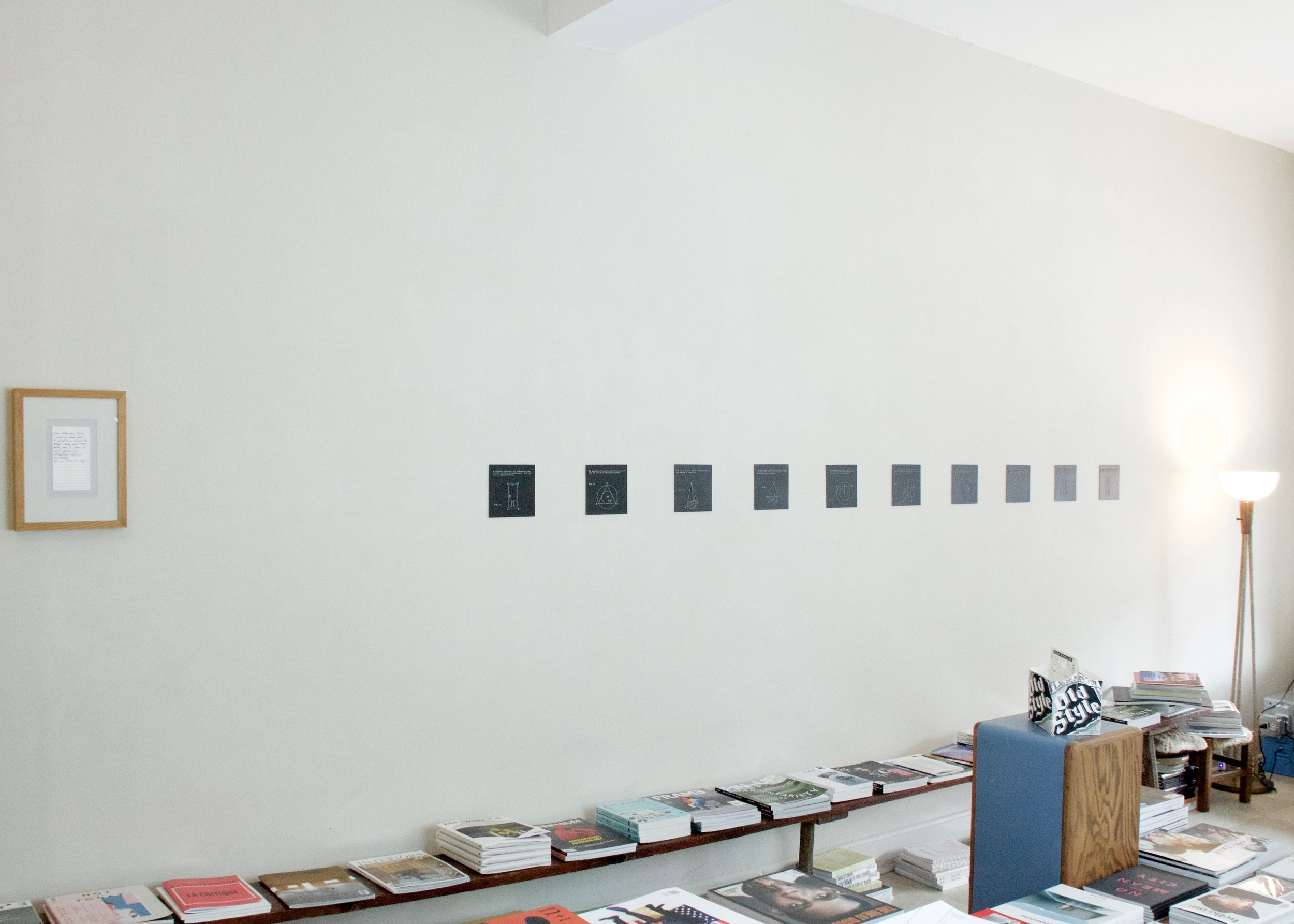 installation view,  Stephanie Brooks for Syntax Season , 2016
