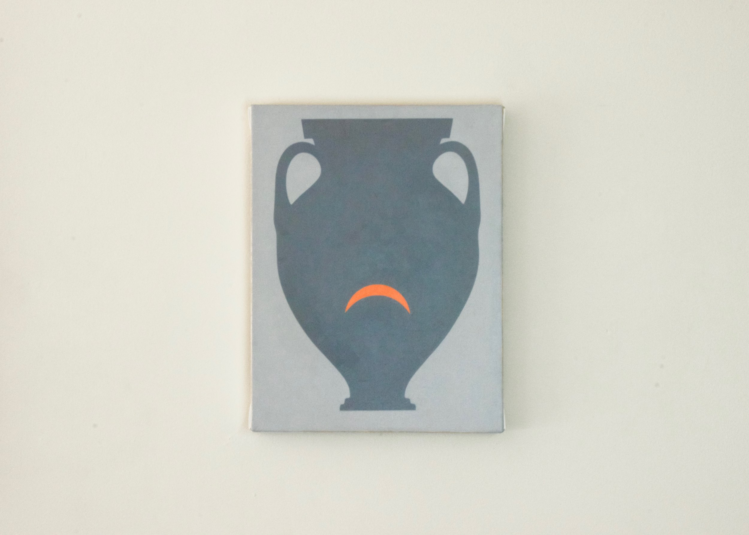 Alice Tippit, Pose , 2016       oil on canvas | 13 x 10 in.