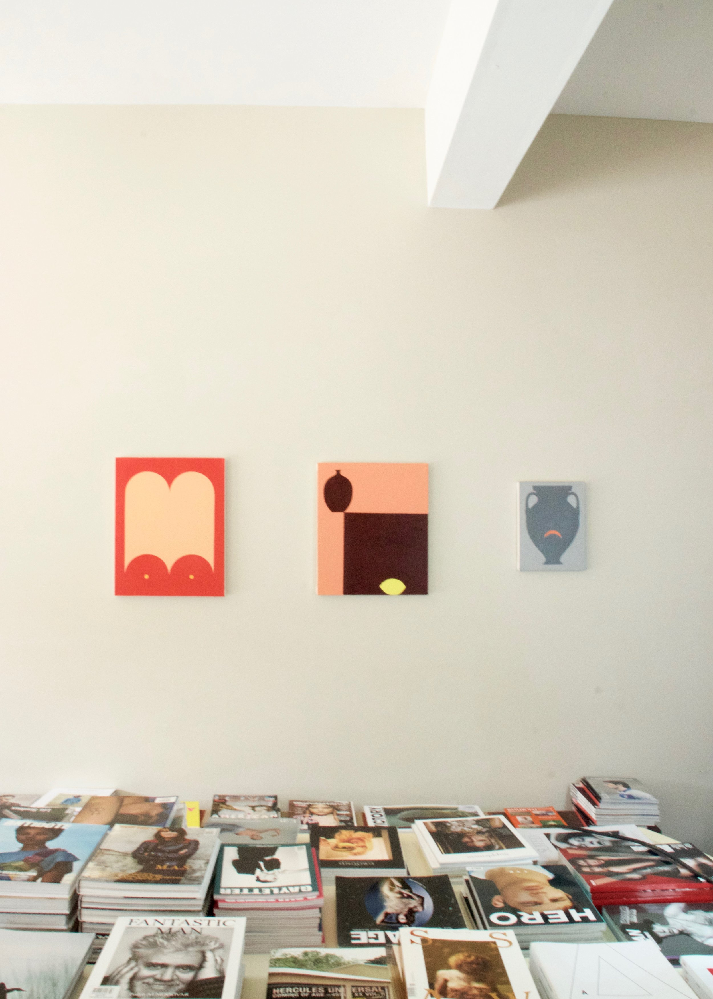 installation view, Alice Tippit  for Syntax Season , 2016