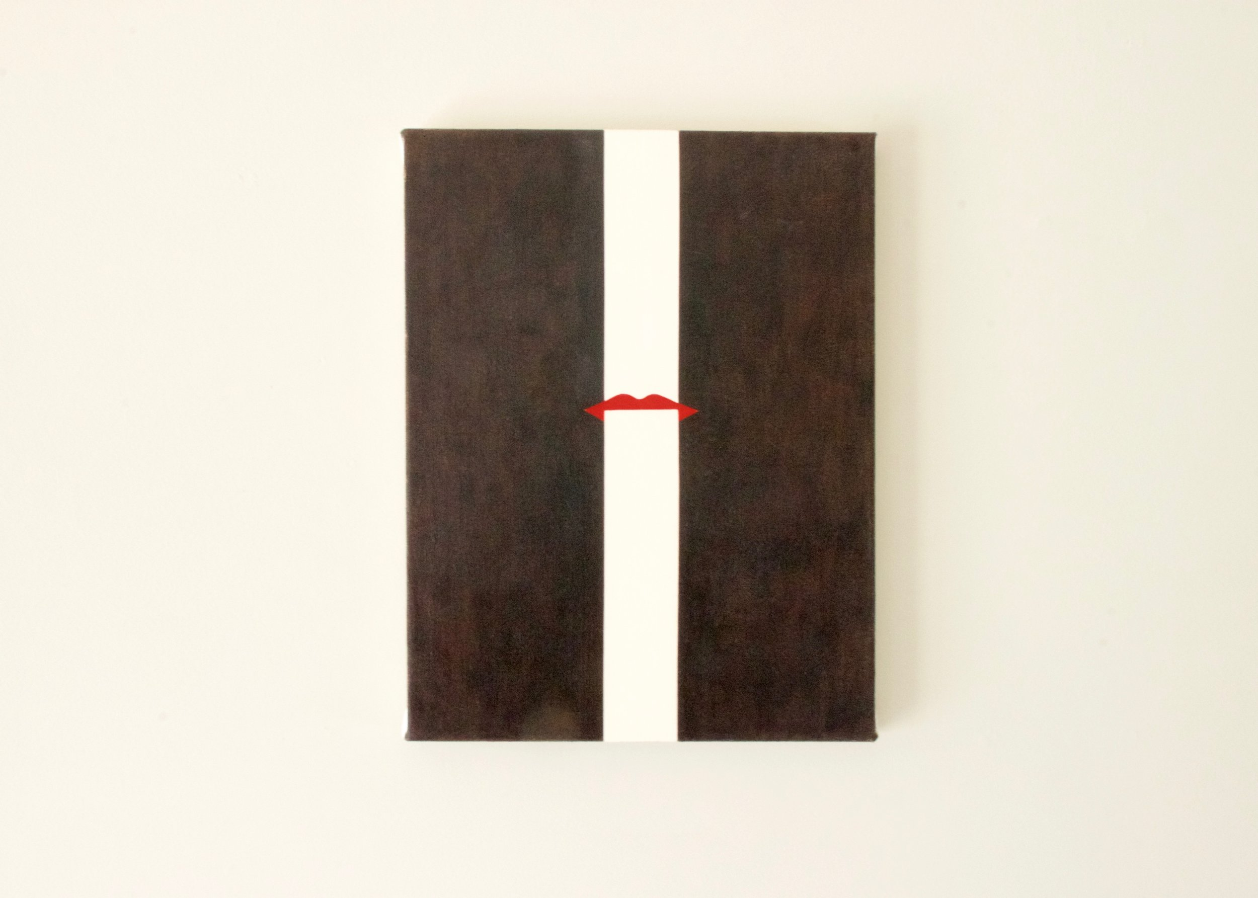 Alice Tippit, Total , 2016       oil on canvas | 13 x 10 in.