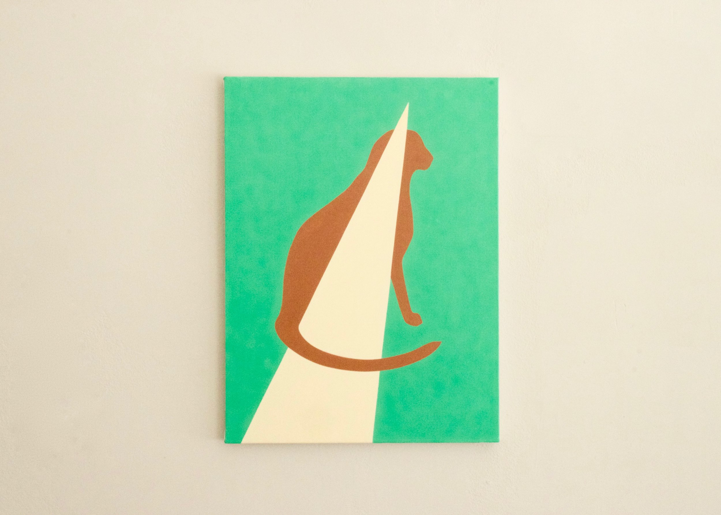 Alice Tippit, Scar , 2016       oil on canvas | 24 x 18 in.
