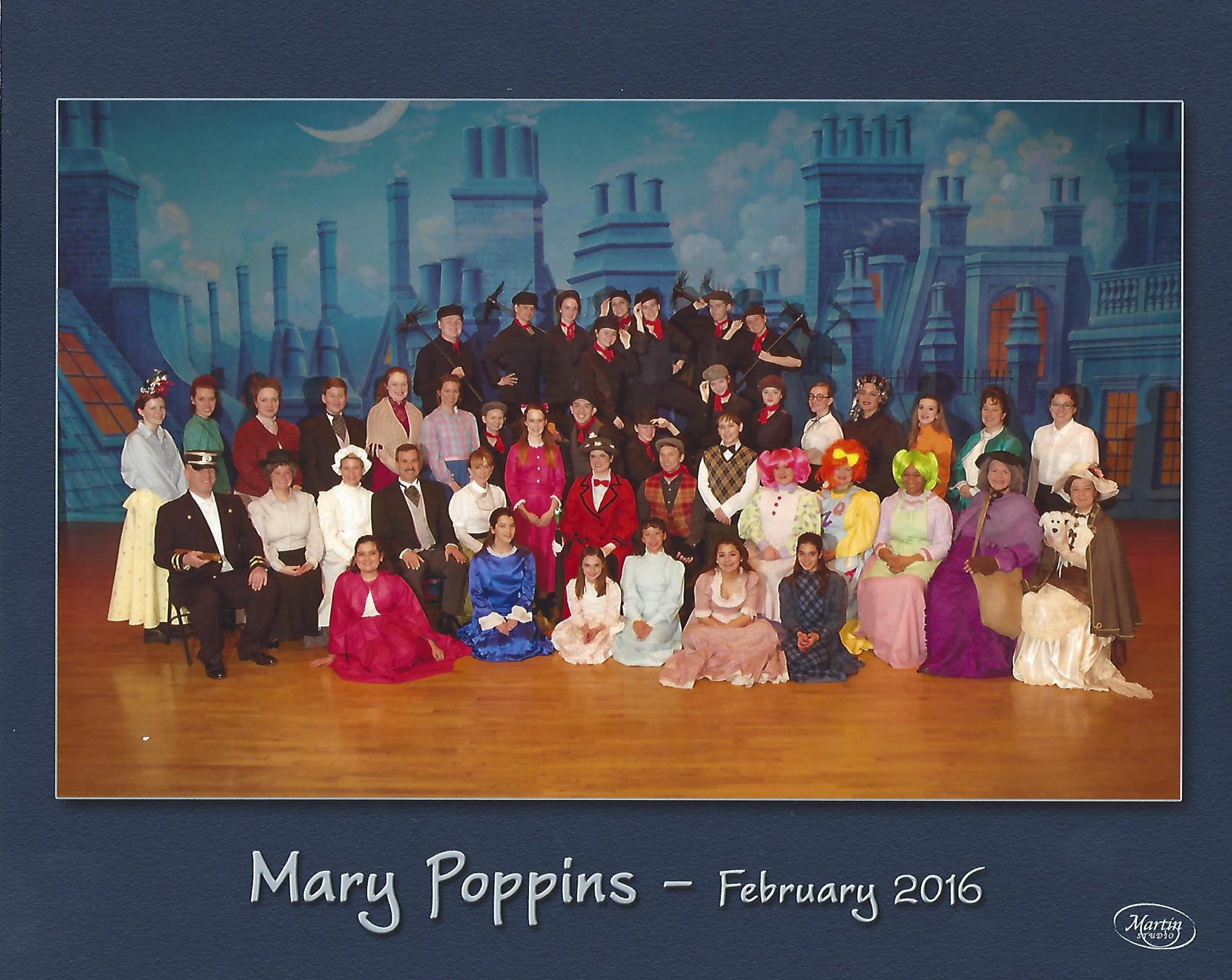 Mary Poppins Cast Photo