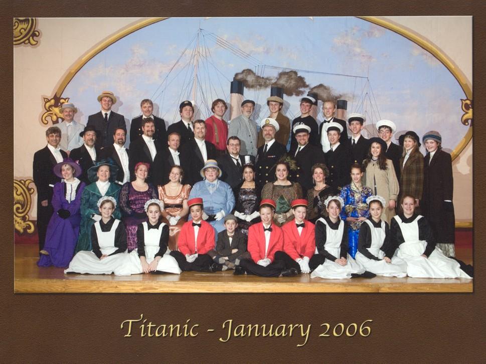Titanic: The Musical - Season 27
