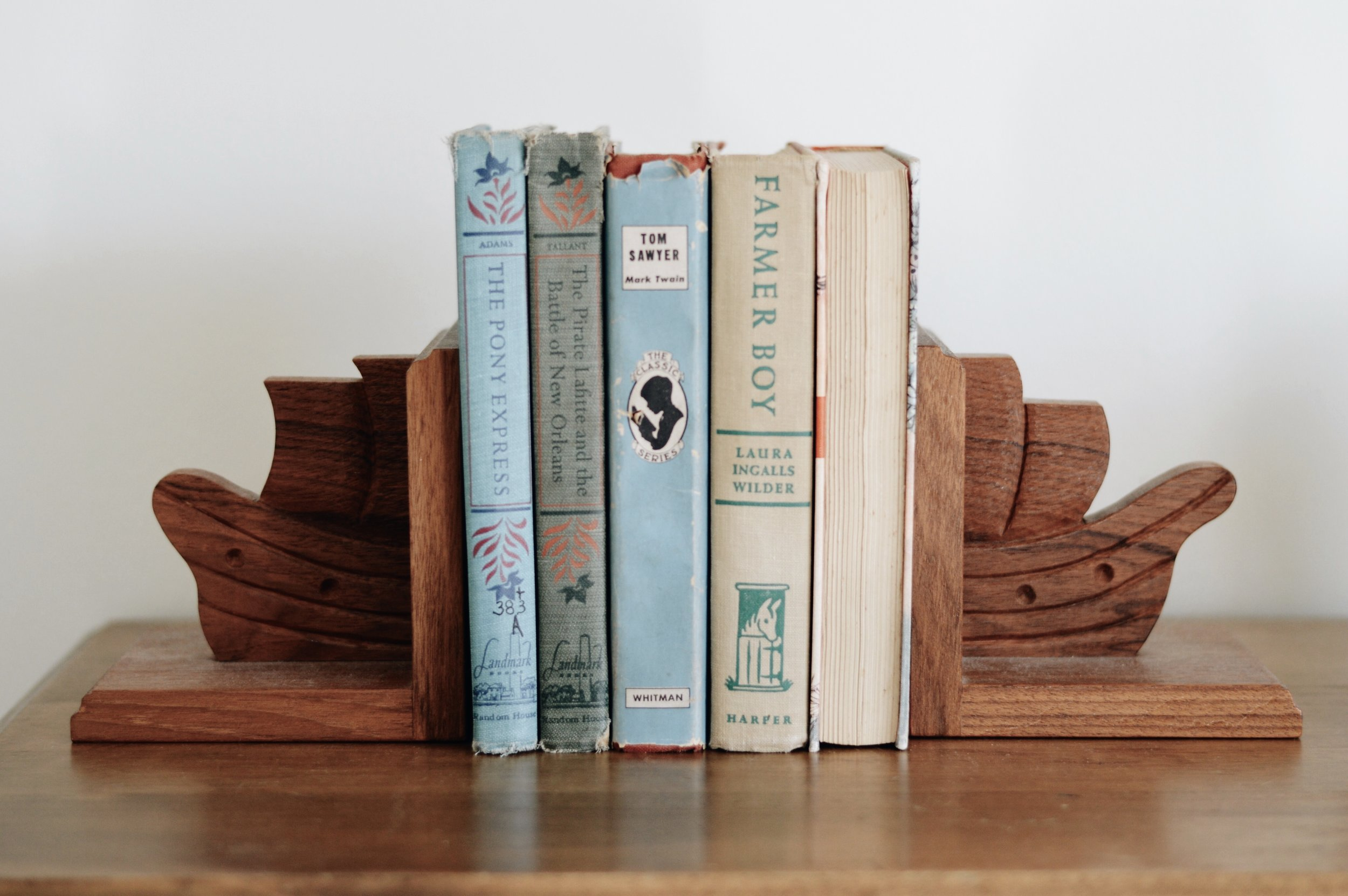 My sister & dad made these ship bookends!!