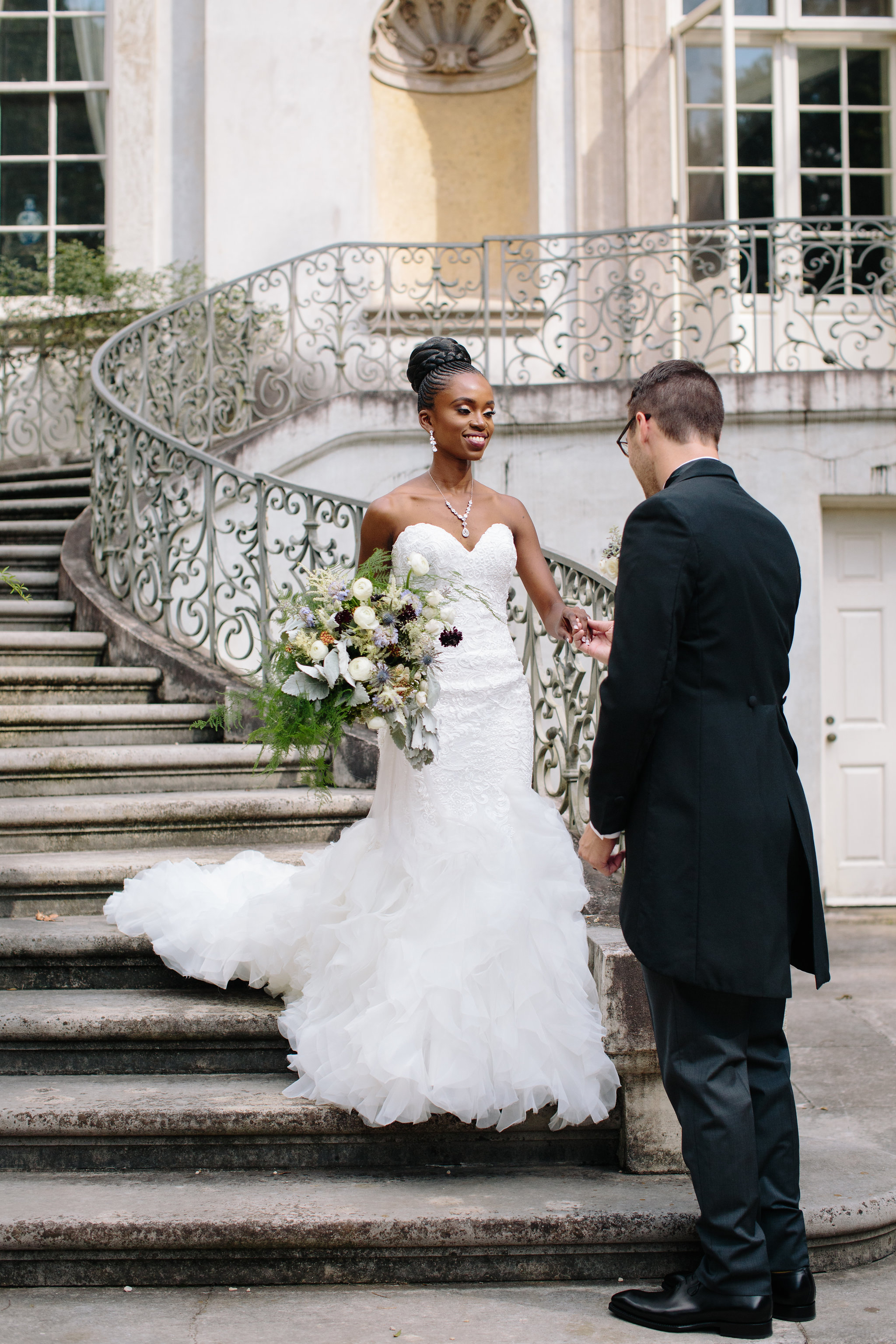 Irene + Chris | Swan House | Floral + Design