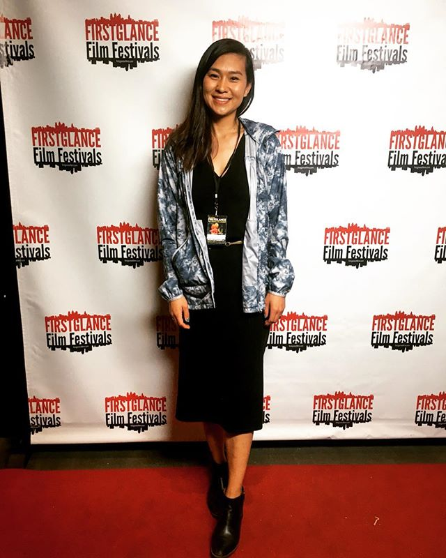 Was happy to speak on the Women in Indie Film Panel at the #firstglancefilmfestival hosted by @chimaerafilms and moderated by @joanna_ke . . . . #femalefilmmakers #womenempowerment #lawomensfilmcollective #filmfestival #asiandirector #latinadirector #chicanadirectorsinitiative #believeinyourself #femaledirector #femaleproducer #pocfilmmakers #supportindiefilm #vivaindie #femaledirectors #vktrycreative #indiefilmmakers #womeninfilm #womeninmedia #femalefilmmakerfriday @vktrycreative