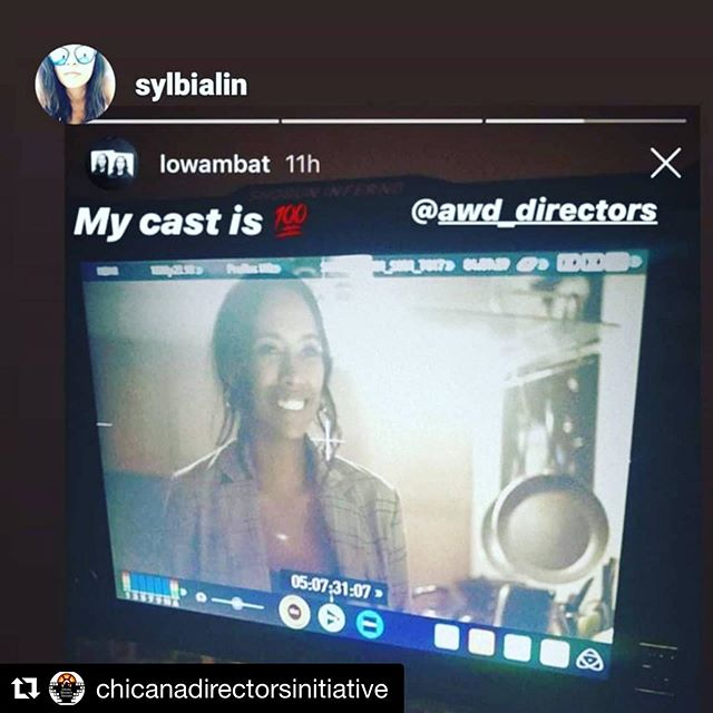 Always working, always learning 💕 . . . #Repost @chicanadirectorsinitiative with @get_repost ・・・ 💖💯 @sylbialin @lowambat  @vktrycreative #latinadirector #director #koreandirector #femalefilmmaker #FemaleProductionCompany #bts #onset #allianceofwomendirectors #ChicanaDirectorsInitiative