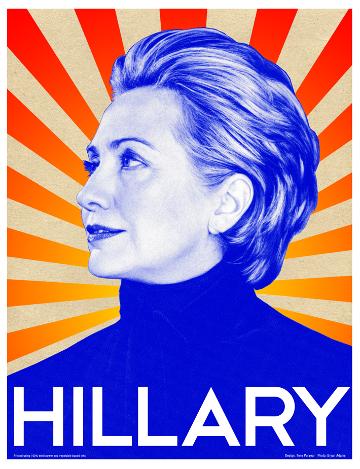 Hillary, you are my spirit animal and I love you. Raising a glass (ok, several) to you. I'm sorry we didn't deserve you.