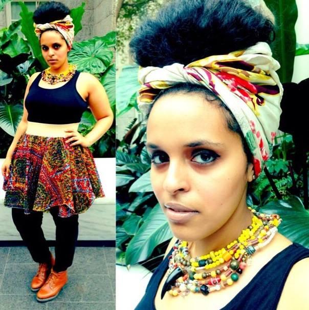 Earth & Flame High Waisted skirt