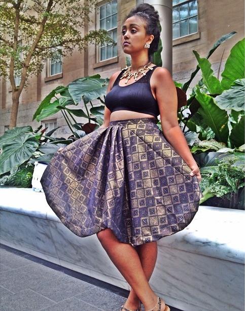 Royal Belle Empress skirt