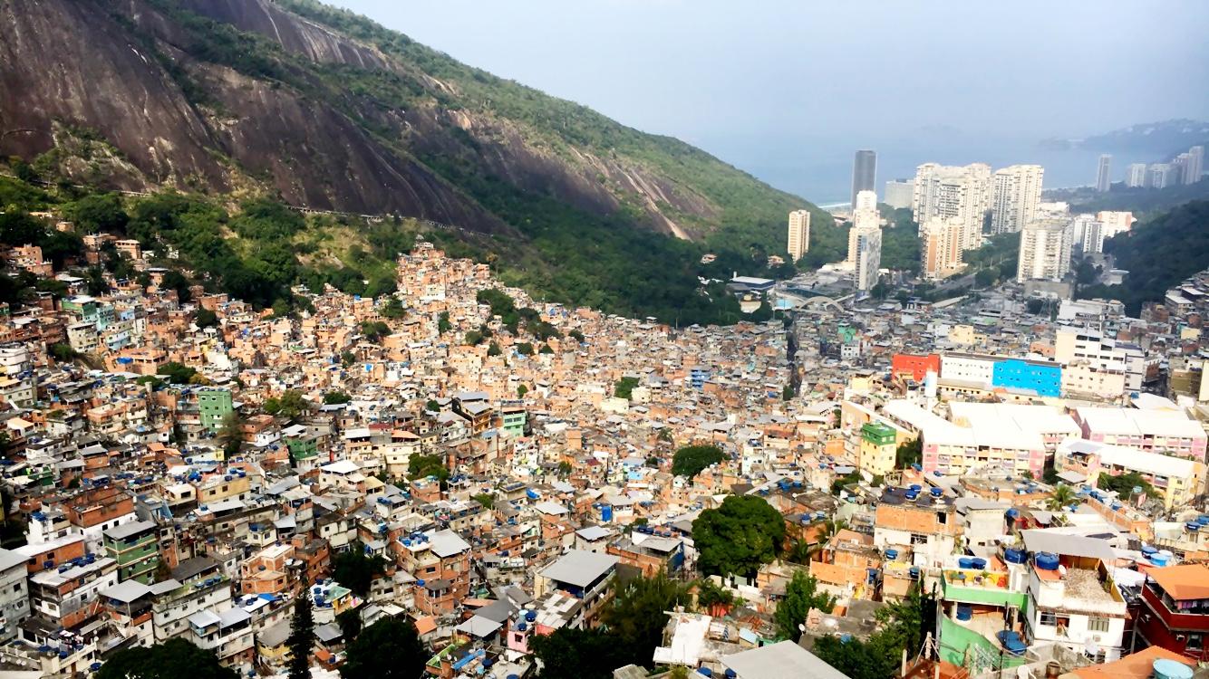 View overlooking Rocinha.