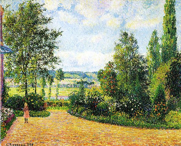 593px-Pissarro,_Jardin_Mirbeau_aux_Damps.jpg