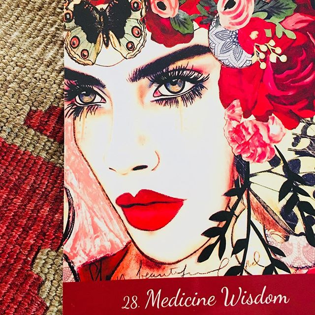MEDICINE WISDOM Daily Oracle 🔮  Hello Loves, the oracle says you are a wild woman. Medicine woman has the gifts of soul wisdom and healing from Mother Nature. Animals, plants and crystals have healing power. ☘️ Listen to your higher wisdom within. Let go of your logical left brain. Connect with the Divine Feminine. Flow with Nature's energies. 🌊 Notice and appreciate how you are cared for. 🍓🍇🍓 Now you can express your talents and true purpose in the world. Find the medicine of your soul and share it with all beings for deep fulfillment. ✨🌈 ☘️ Wondering what kind of Medicine you like to share? 🌹 Sending love to you all and wishes for a rich and happy day today! Dhyana ☀️🌟 DM me for guidance with the Oracle  #oraclecards #crystals #asabovesobelow #higherconsciousness #medicinewoman #loveyourinnergoddess #cartomancy #tarottribe #goddesspower #goddessrising #witchesofinstagram🔮🌙 #witchywoman #dailyoracle #dailyoraclereading