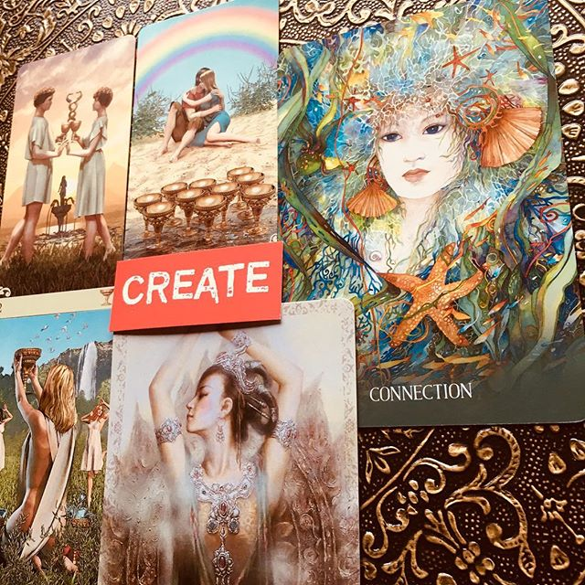 Creating Connection from your Goddess Self is Magic! Happy Valentine's  Love to you all 🍓🍓🍓🌹🌹🌹 Dhyana  #tarotreading #oraclecards #kwanyin #kwanyinoracle #viceversatarot #sacredearthoracle #cartomancy #oraclereadersofinstagram #dailyoracle #valentinesdaycards #loveconnection #createthelove #tarotreadersofinstagram #higherconsciousness #goddess #awakening
