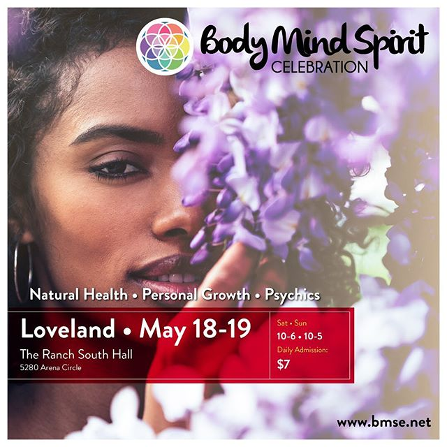 So excited to read Tarot at the Loveland Body Mind Spirit Expo tomorrow and Sunday! Stop by Booth 6 if you are in the area! Readings are pure magic! Like a movie unfolding! Love to you all! 💜🔮💜