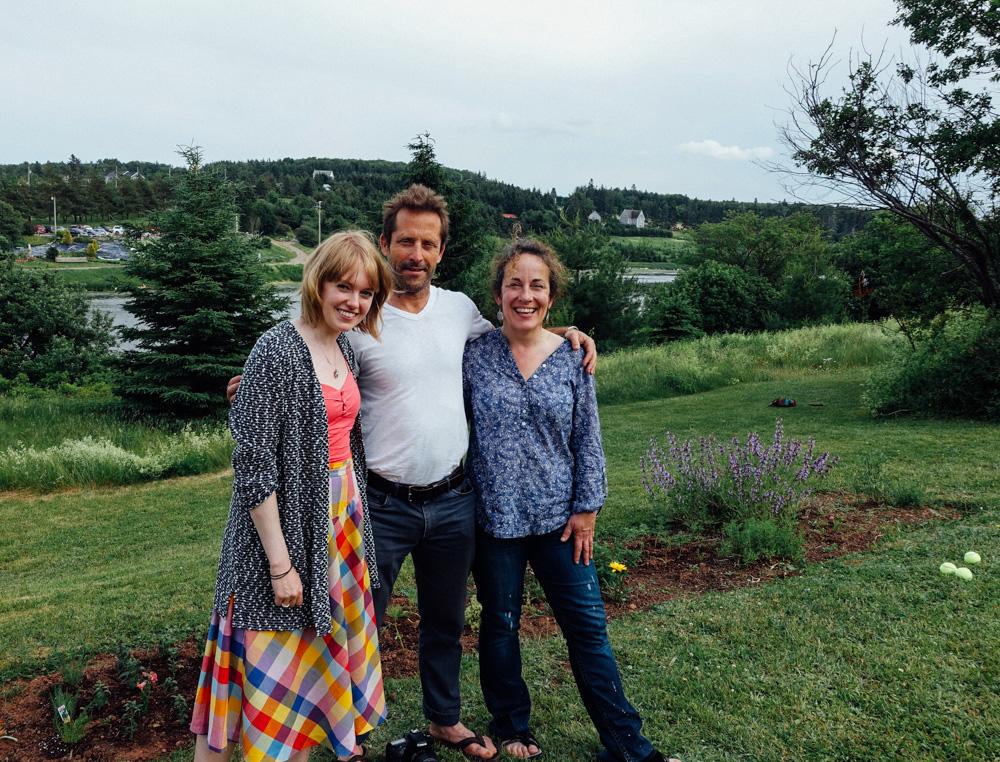 River Clyde Pageant Collaborators Megan Stewart, Ker Wells & Emily Wells