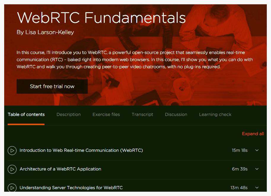 Learn WebRTC