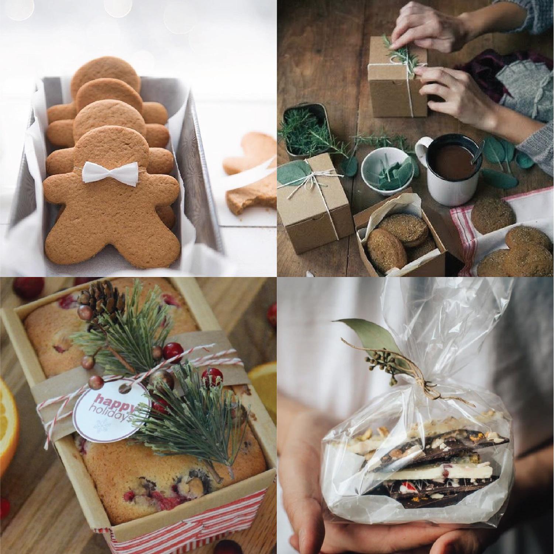 Images via Instagram clockwise from top left:@giftory.co @habituallychic @gardenista_sourcebook @leighanne_yourhomebasedmom