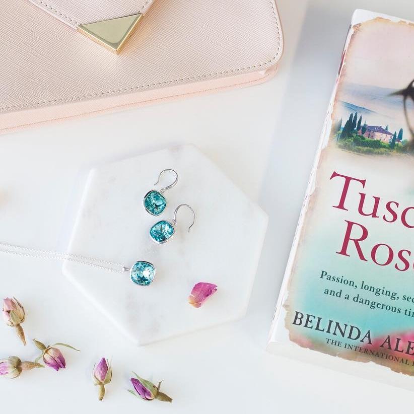 Marisa Kate Designs - Turquoise earrings and pendant