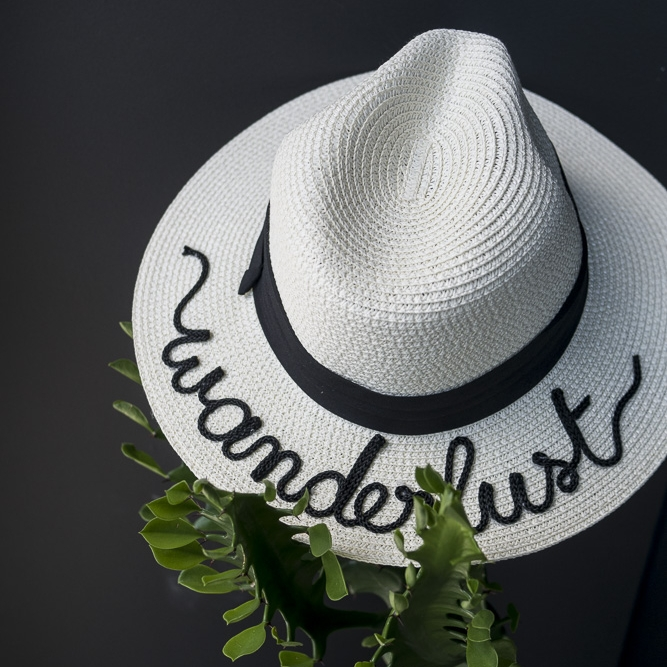 Bits and Pieces to go - Customised Panama Hat