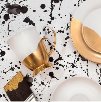 Cristina Re - Set of 2x Gold Artists Mugs