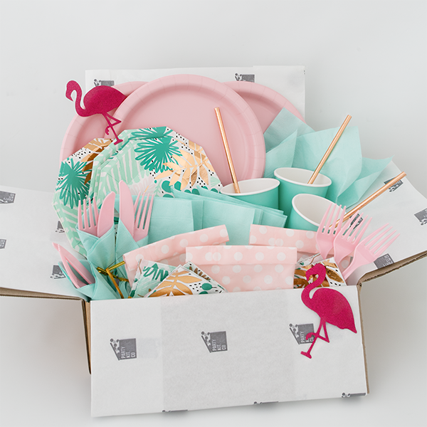 Make your customers decision making process a breeze by showing them your product from all angles. Party Kit supplies styled and photographed by Creatively Squared.