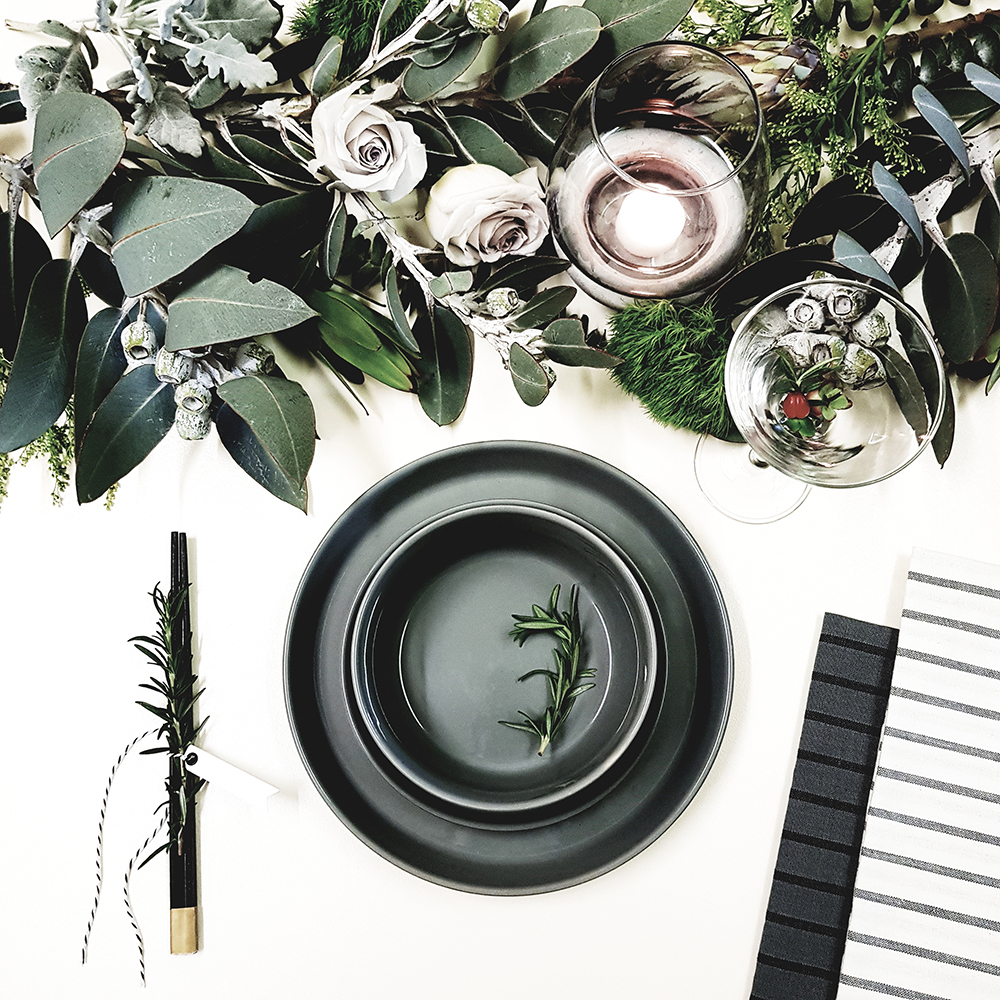 This image was created was for a recent collaboration with Big W Australia. I love the gorgeous greenery with the grey & white tones.