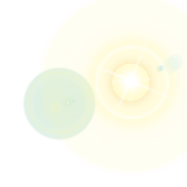 A free sun flare png file