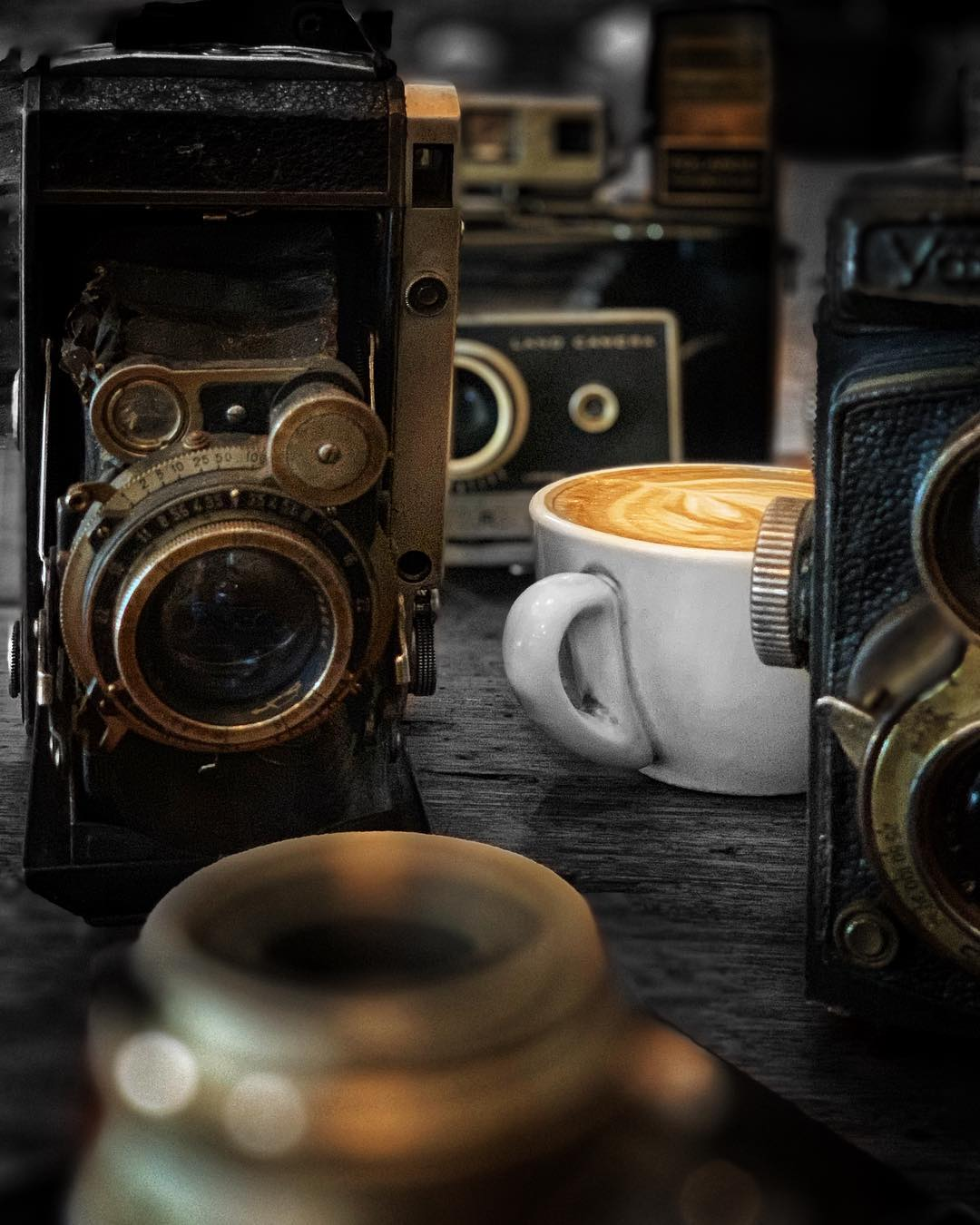 Capturing mood with vintage cameras