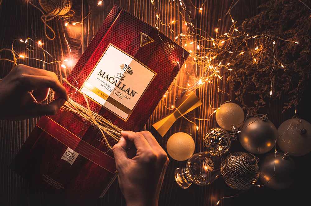 Using fairy lights as an alternative light source. Photo for Macallan by Creatively Squared creator Jitz