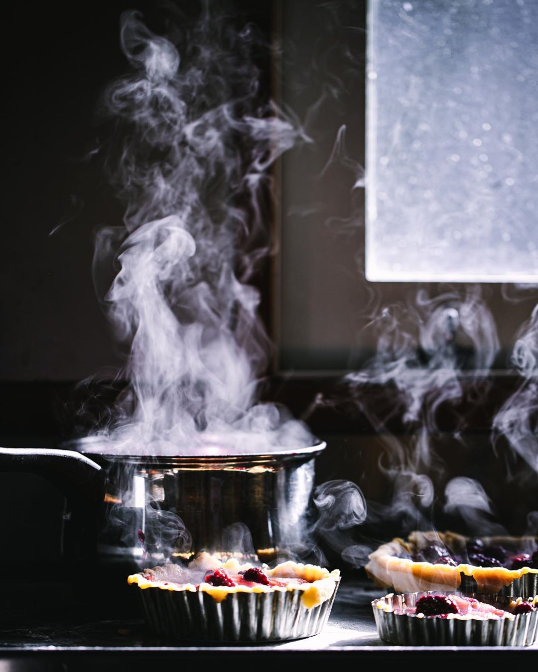 The beauty of steam in food styling. Source:  @christall.lowe
