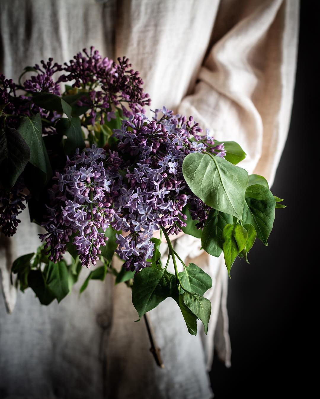 Aimee making sugar magic with Lilac flowers. Source:  @twiggstudios