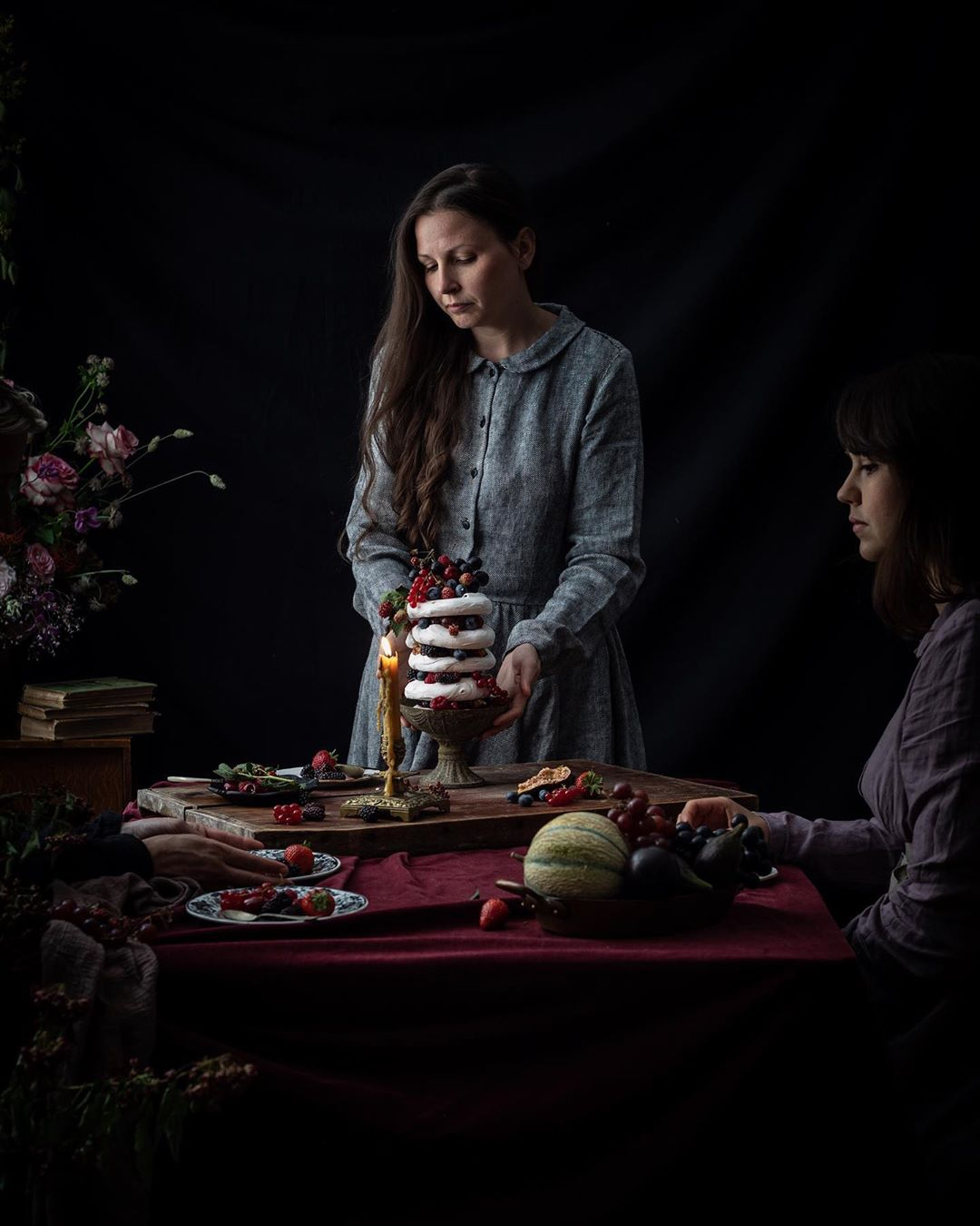 A self portrait of Aimee from a recent workshop. Source:  @twiggstudios