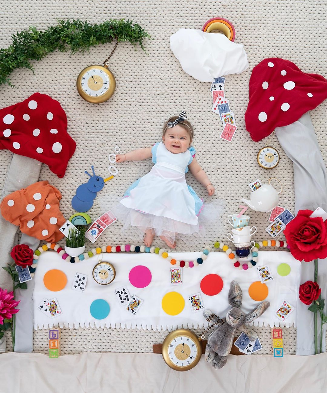 Georgia at 7-months old.  Image via @annawithlove on Instagram