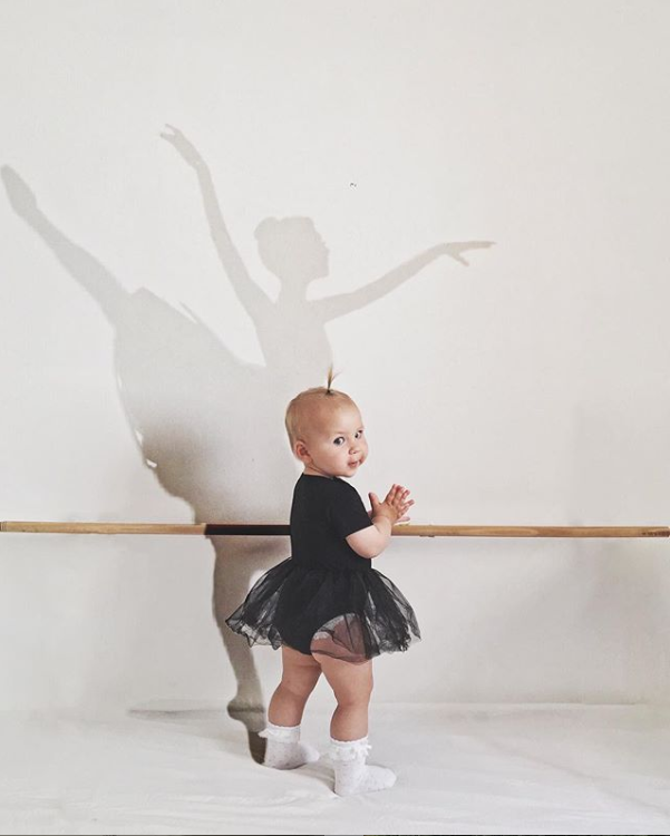 This ballerina shaped shadow is a free sticker from PicsArt  Image  by  @sarah.simple.moments