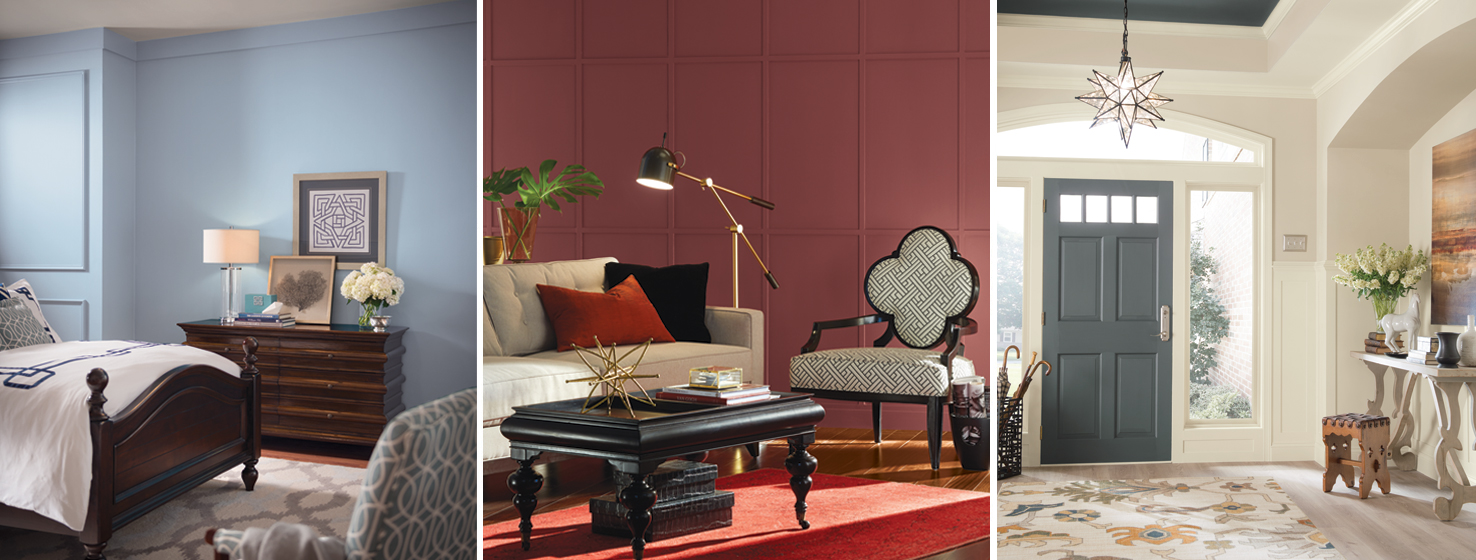 Nouveau Narrative collection by Sherwin Williams