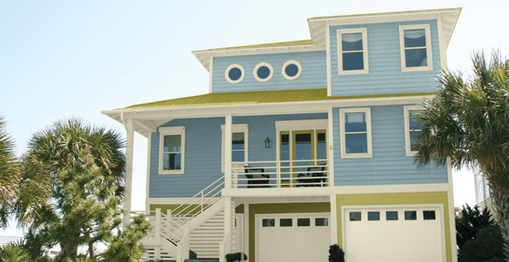 Southern Shores collection by Sherwin Williams Example 2
