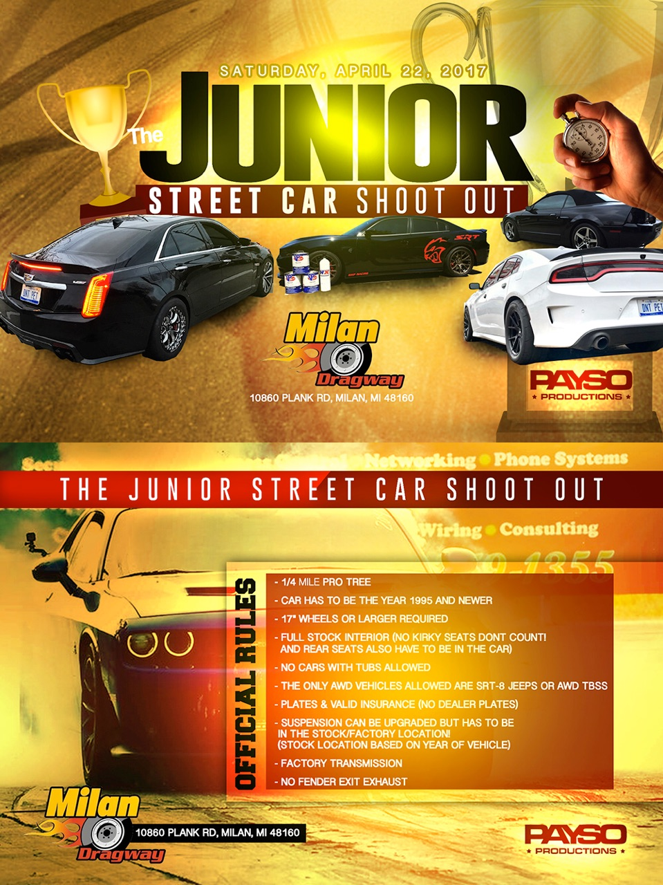 April 22 Street Car Junior Flyer