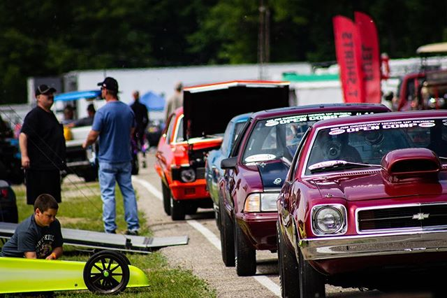 The wicked fast racing action is back today! Gates are open now, and on the track at 4PM! #milandragway
