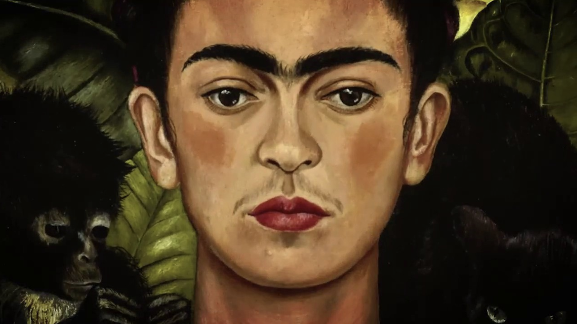 Self-portrait by Frida Kalho