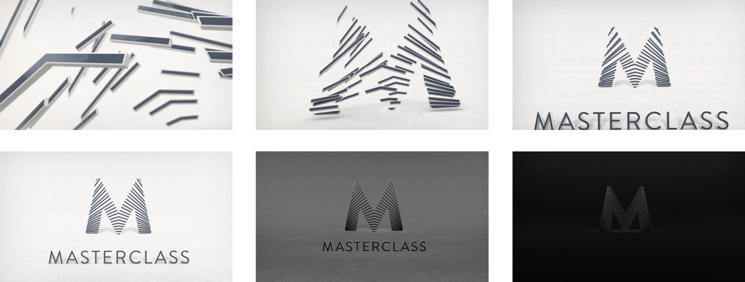 Stills for the MasterClass branded introduction