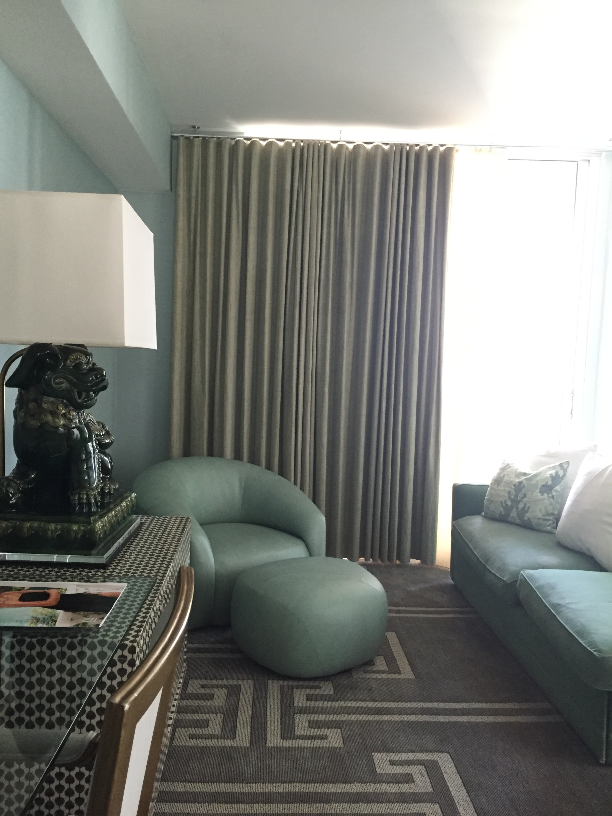 Viceroy Miami Corner Suite Living Space