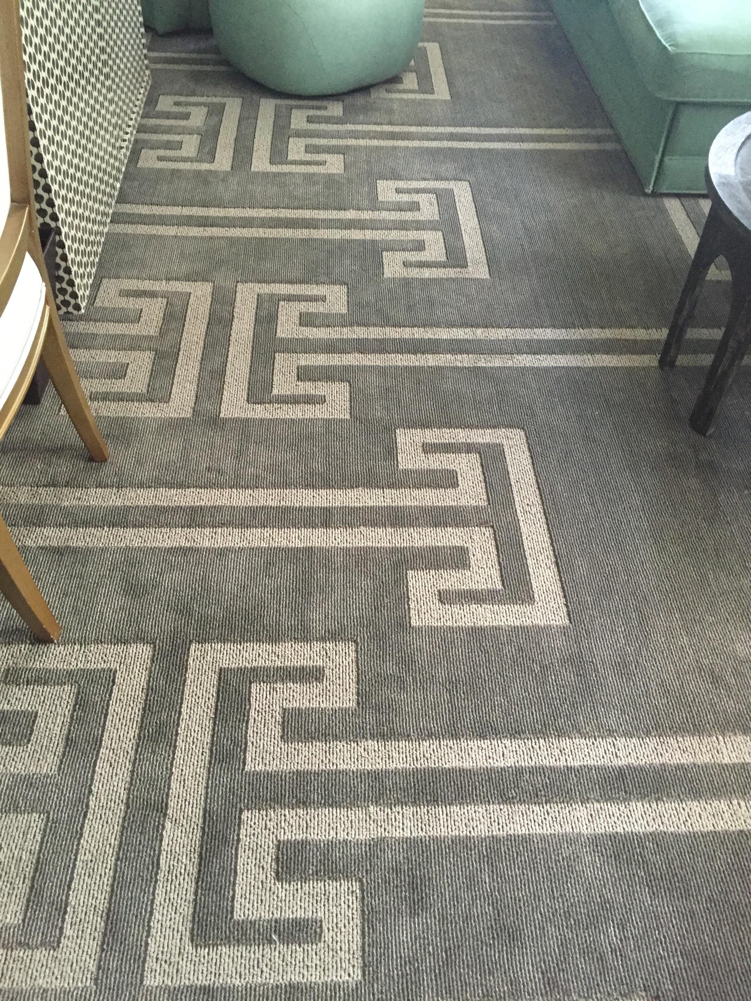 Viceroy Miami Corner Suite Carpet Detail