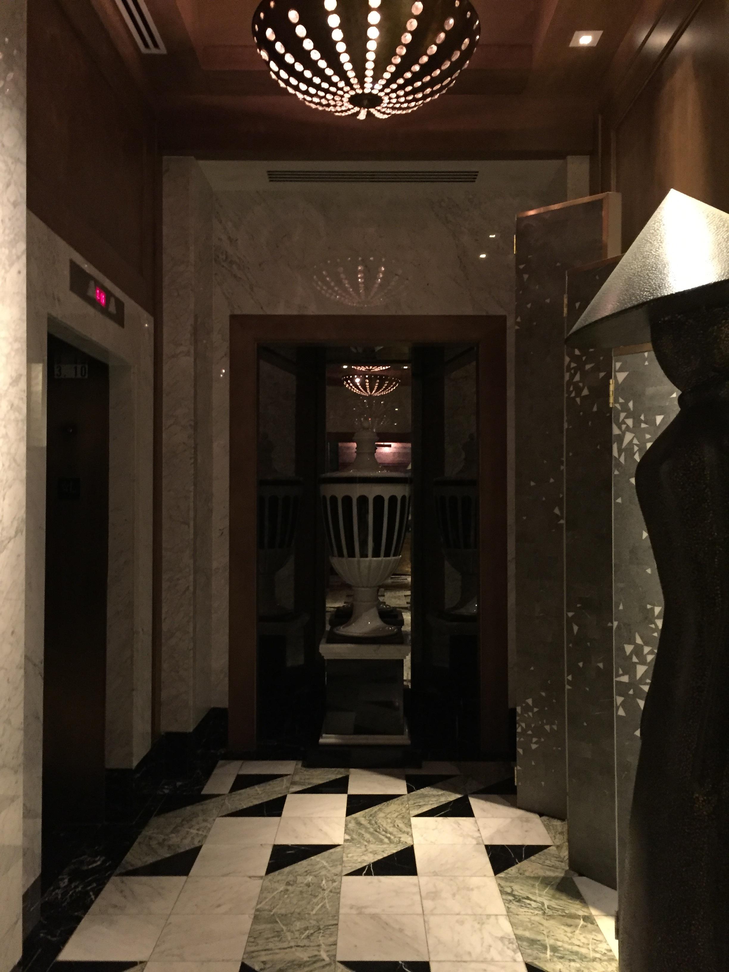 Viceroy Miami Elevator Lobby