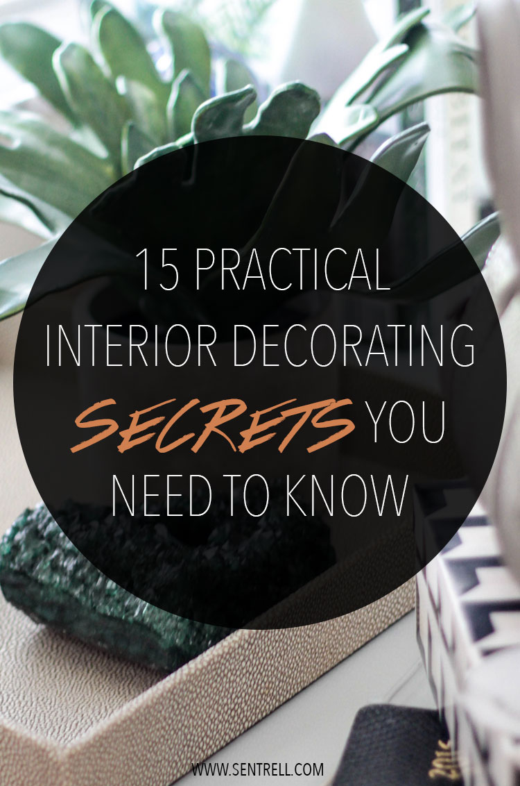 interior decorating secrets