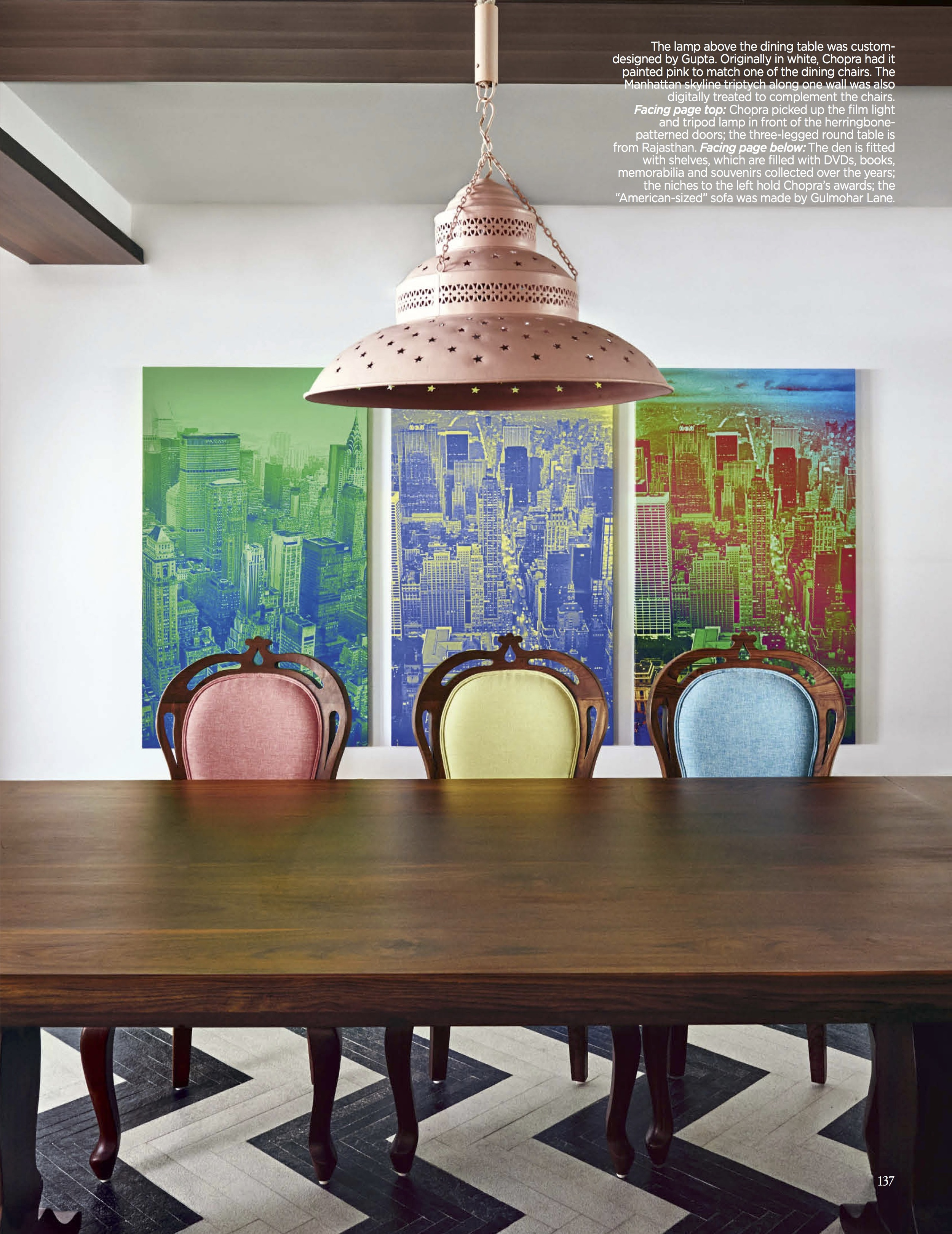 Parinetti Chopra Dining Room