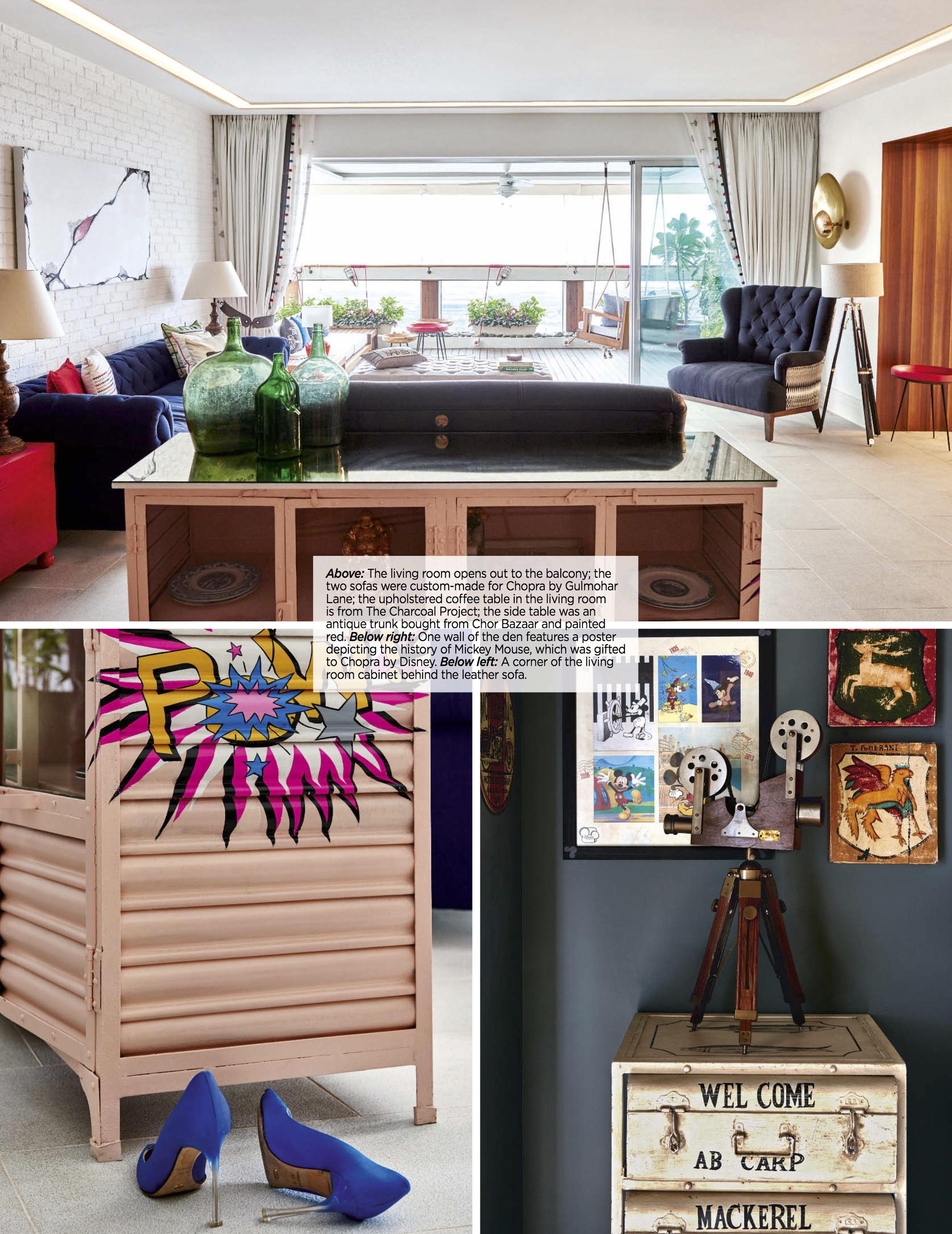 Parineeti Chopra Living Room Details