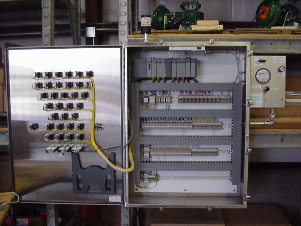 PLC Control Panel - ICC